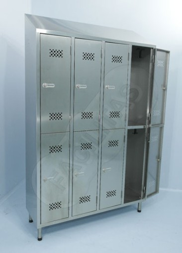 manufacture stainless steel changing room lockers